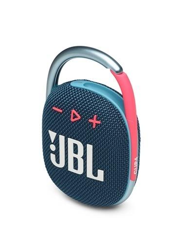 JBL JBL Clip 4 Mavi-Pembe Taşınabilir Bluetooth Hoparlör Mavi